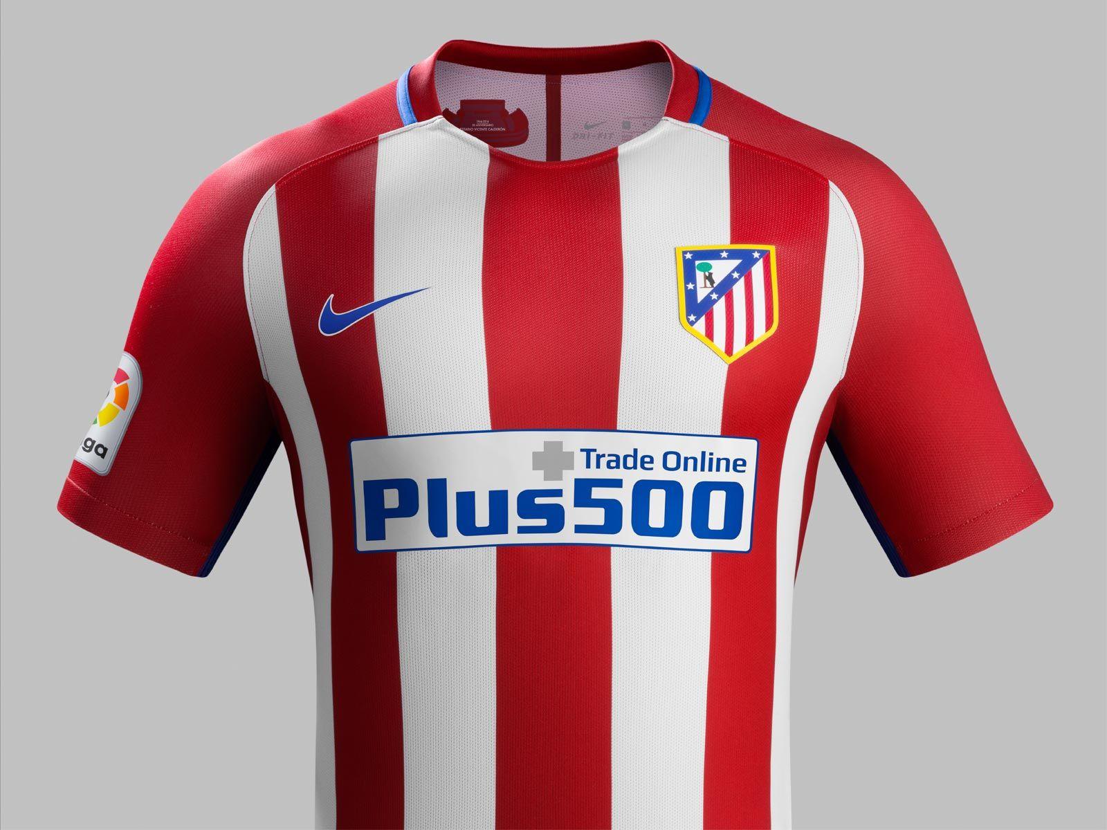 Atletico De Madrid 2016 17 Home Jersey Atlético Madrid Soccer Jersey Madrid