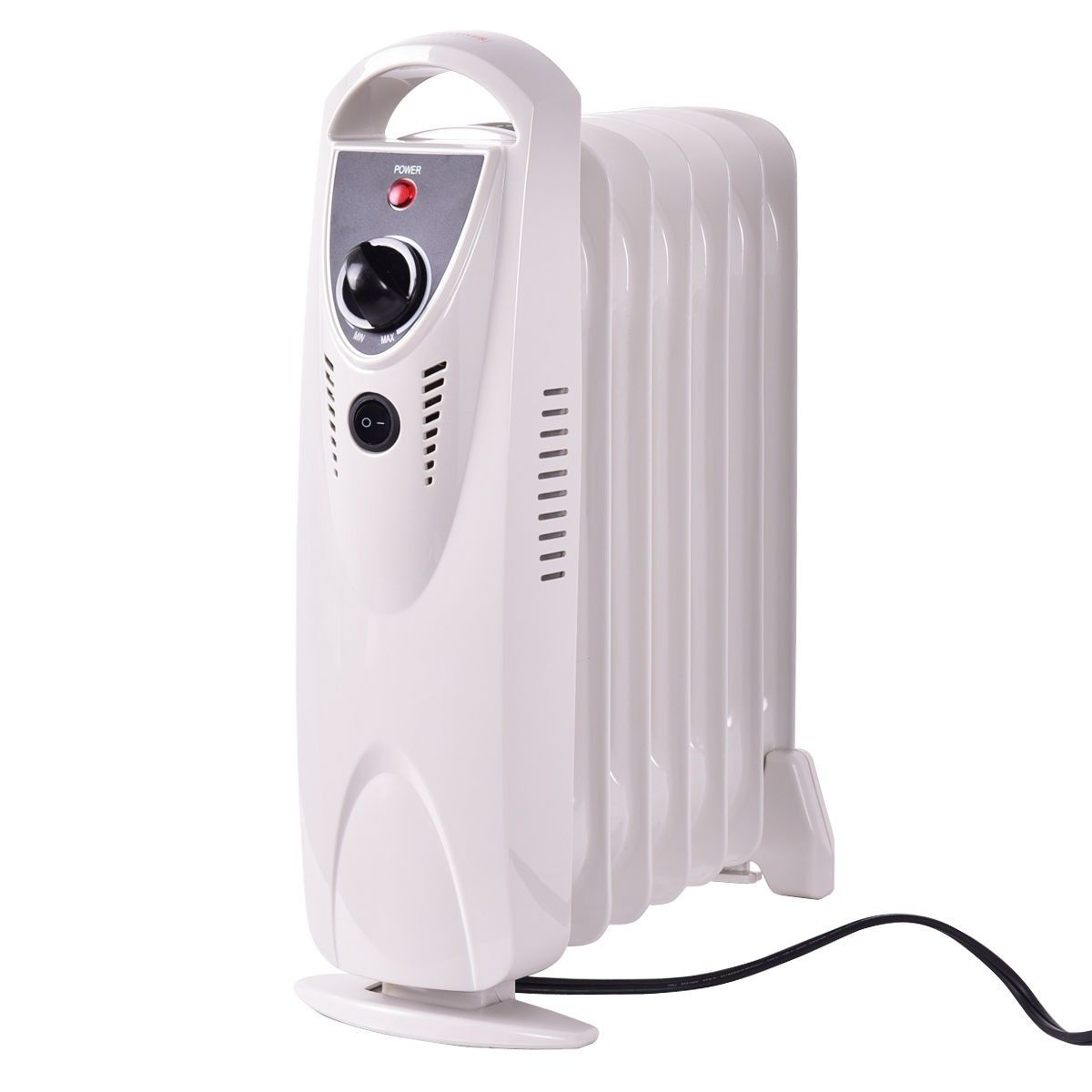 Portable 700 W Mini Electric Oil Filled Radiator Heater Radiator