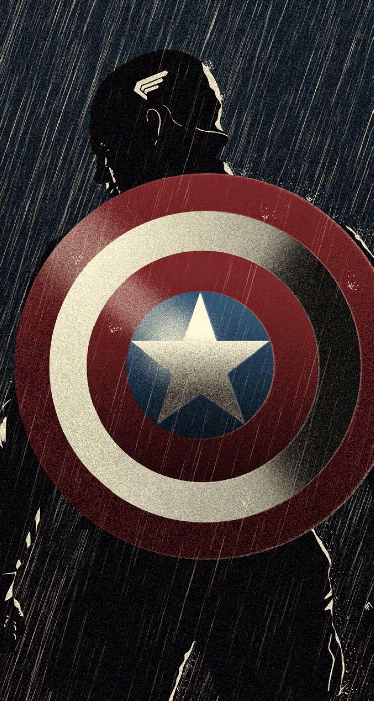 iPhone wallpapers ♡ Captain america wallpaper, Captain