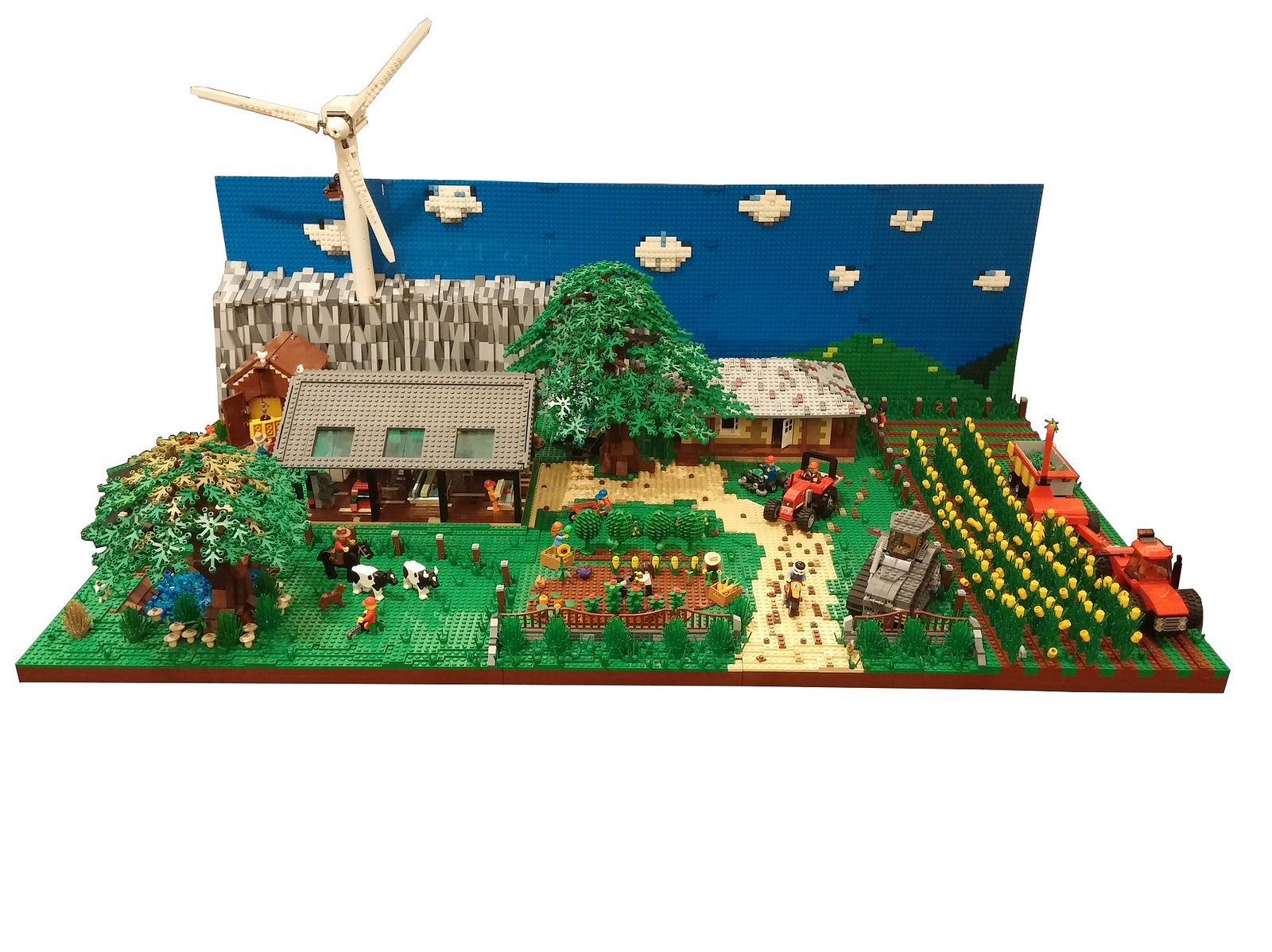 Lego Farm Moc Lego Creativity Pinterest Lego Farming And Lego