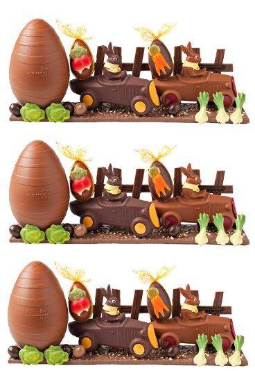 harold et gaspard la maison du chocolat p ques 2011 course dans le potager chocolat. Black Bedroom Furniture Sets. Home Design Ideas