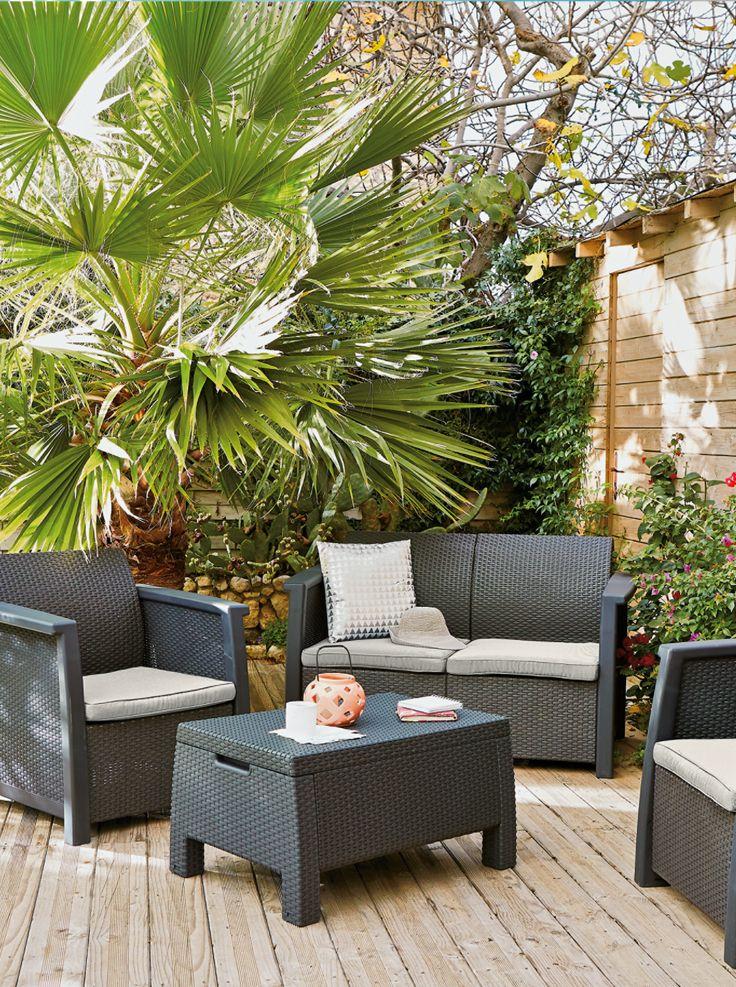 Salon de Jardin DENVER | EXTERIEUR | Pinterest | Salon, Jardins et ...