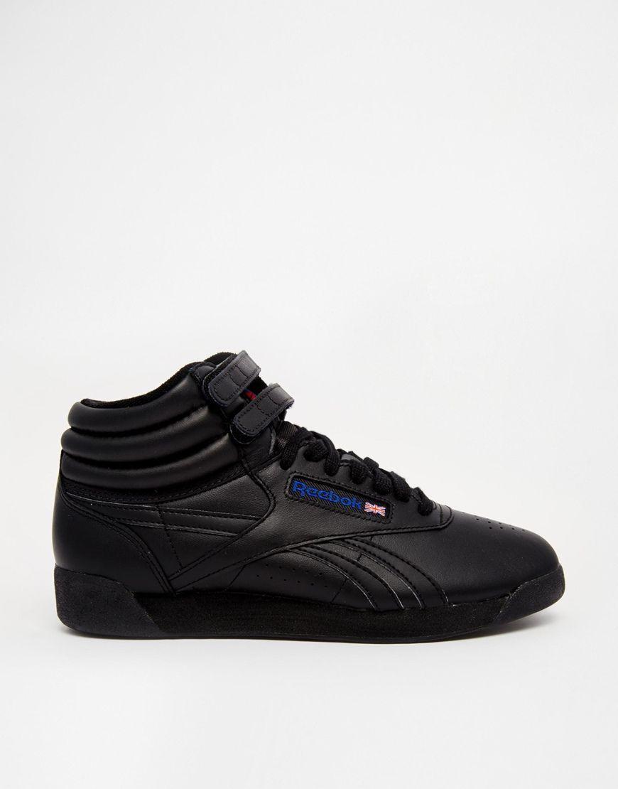 ... White M43399 Image 2 of Reebok Classic Free Style Hi Spirit Black  Trainers reebok sneaker shoes reebok freestyle ... 4faf76f12