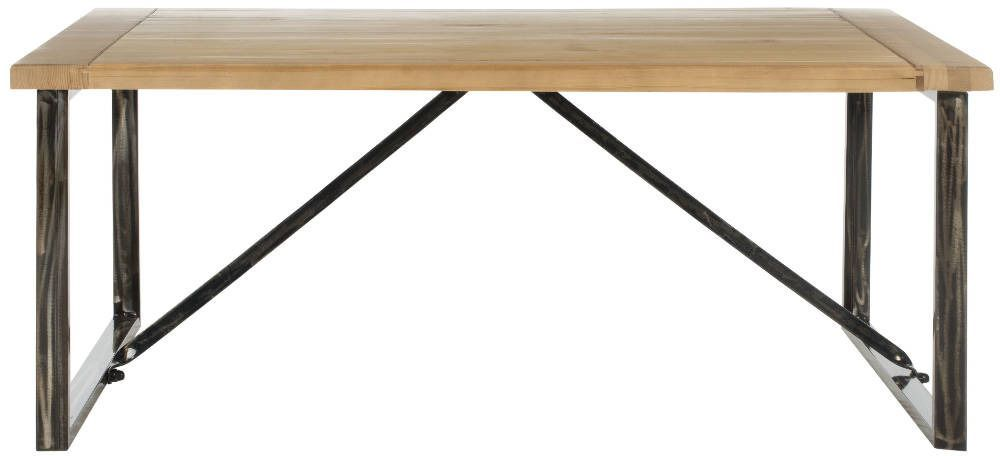 <p>A study in contrasts, the Chase Coffee Table is an elegant pairing of natural fir wood with a reclaimed look, and the clean, straight forged iron lines of the new industrial style. Perfect for mountain lodge or urban loft, Chase is designed for relaxed, casual living.</p>