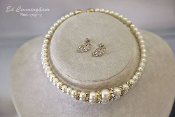 Every bride needs her pearls