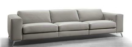 Contemporary sofa / fabric / 3-seater / reclining MOVING ...