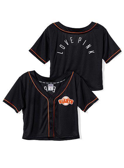 951cc6265950b San Francisco Giants Crop Baseball Top | Closet | San francisco ...