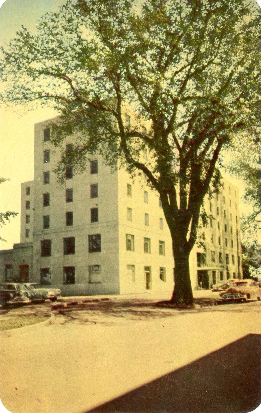 1950's Beaverbrook hotel Fredericton New Brunswick Canada.Hagins collection.