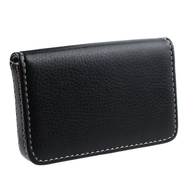 Wallet for credit cards pu leather exquisite magnetic business card wallet for credit cards pu leather exquisite magnetic business card holder case attractive card box tarjetero reheart Image collections