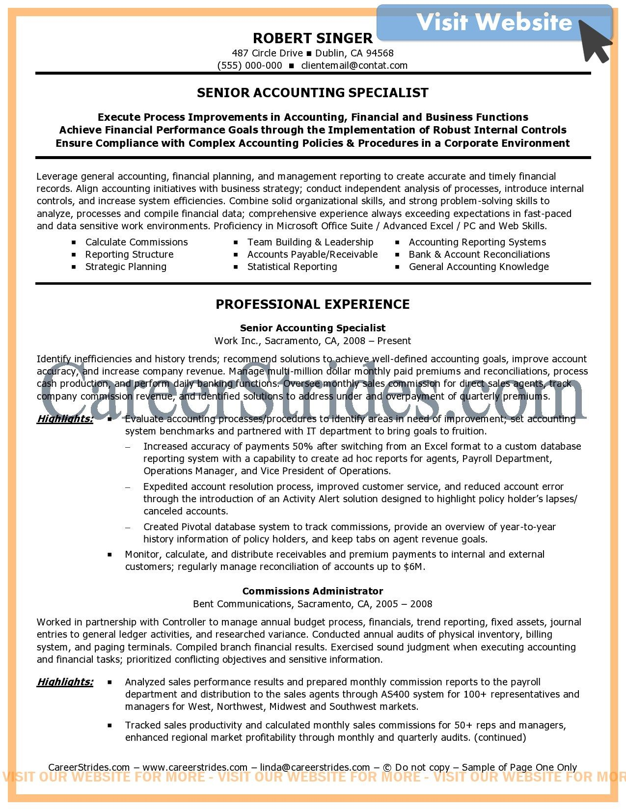 Auditor Resume Samples 2020 Auditor Resume Templates 2021 Accountant Resume Resume Objective Sample Resume Examples