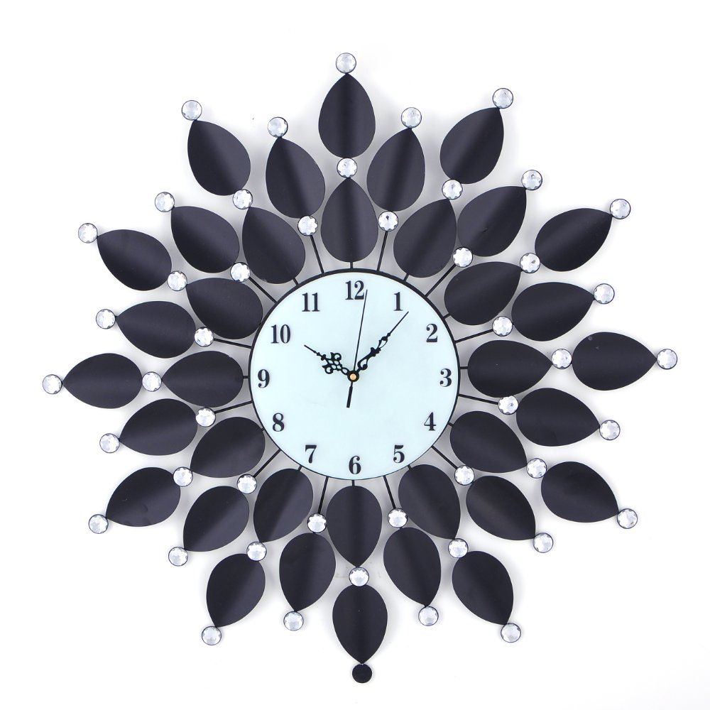 Wall Clock Decor bust of decorative fancy wall clocks | home decorations ideas