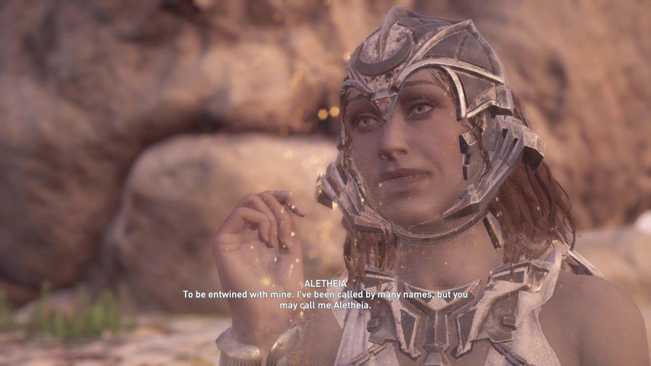 Atlantis DLC Quest Ac Odyssey- Intro Cutscene - Isu First Civ - Heir