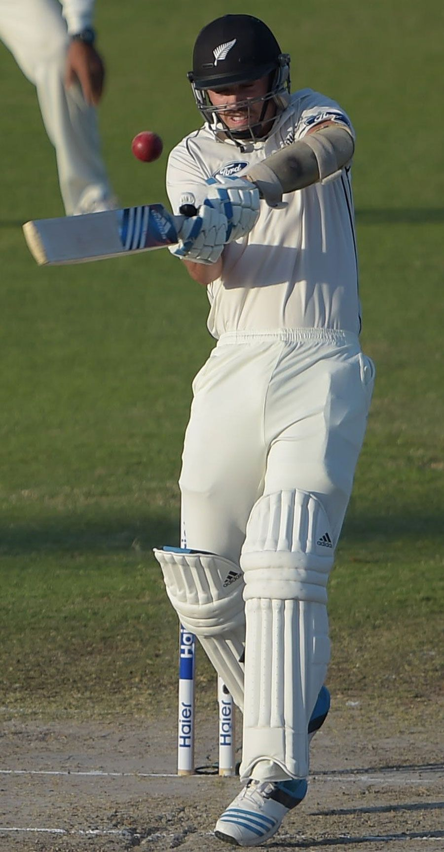 Tim Southee Plays A Pull, Pakistan Vs New Zealand, 3rd
