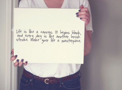 Make Your Life A Masterpiece.