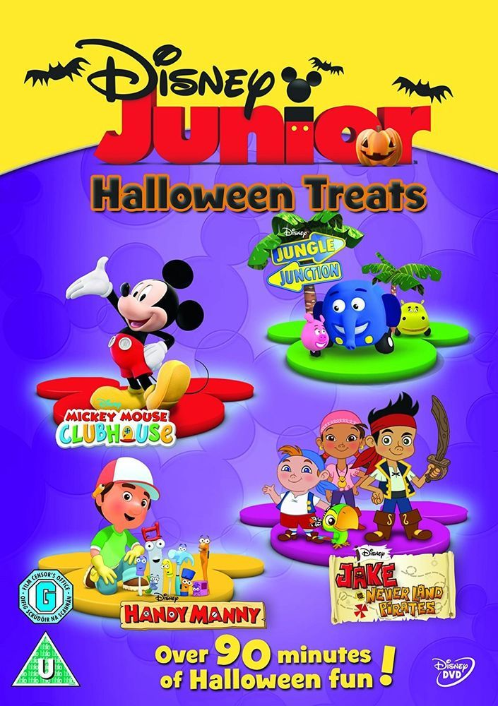 Mickey mouse disney junior halloween treats dvd