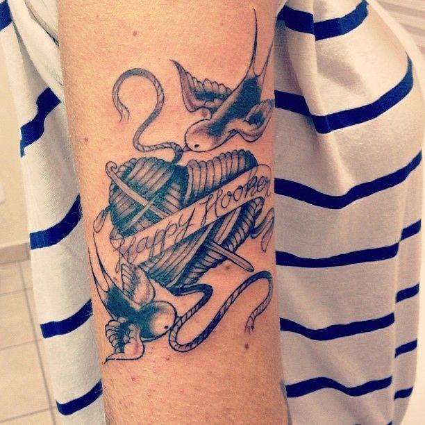 Happy Hooker Tattoo Ink Handarbeit Crafty Selbermachen Diy