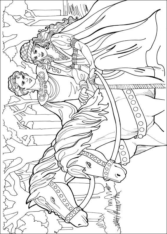 Coloring Pages Princess Leonora