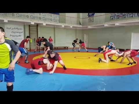 Georgia-Poland Training Freestyle Wrestling Tbilisi 2017