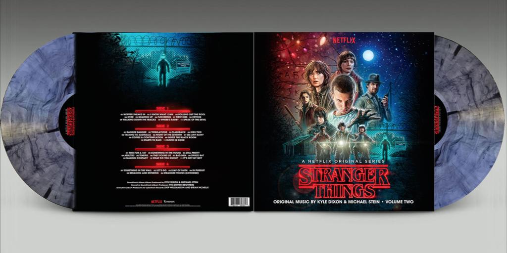 30 Kyle Dixon Michael Stein Stranger Things Vol 2 A Netflix Original Series Soundtrack 2 Netflix Original Series Netflix Originals Stranger Things