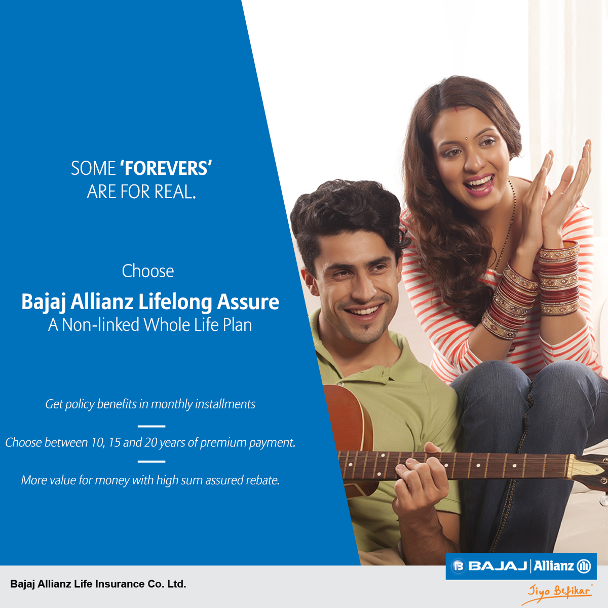 Live Long Live Happy Opt For Bajaj Allianz Lifelong Assure A