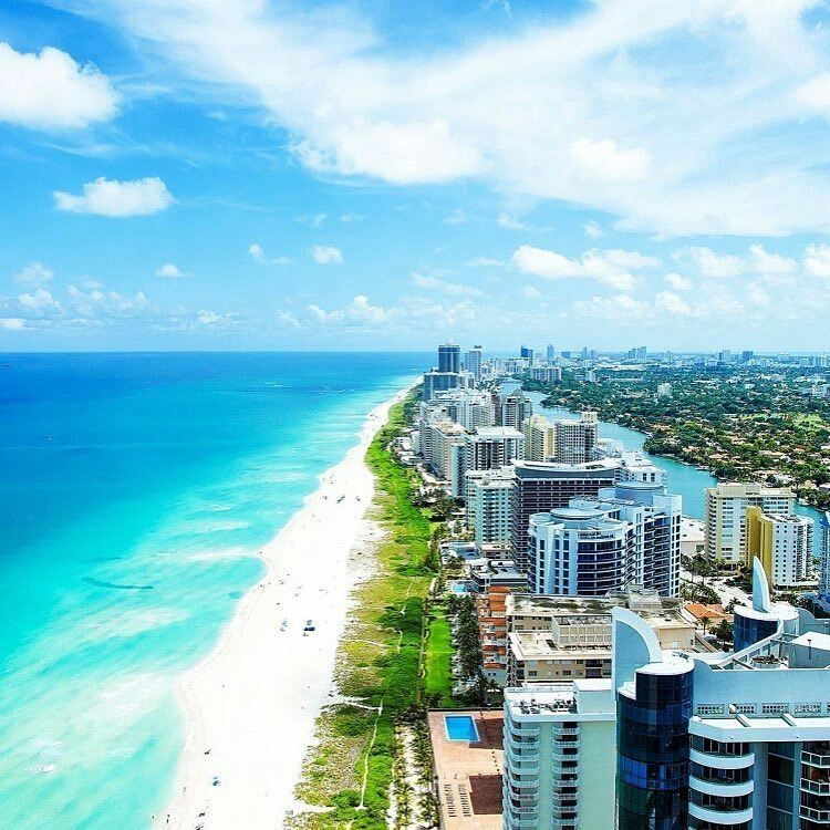 Miami Beach Birds Eye View
