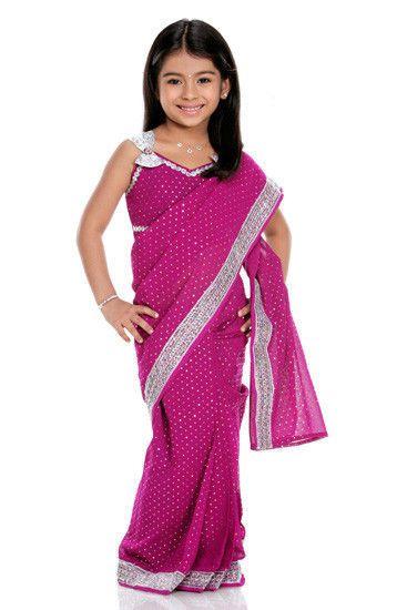 traditional india kids costumes readymade india saree