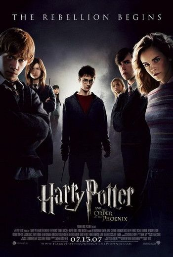 Harry Potter And The Order Of The Phoenix Harry Potter Movie Posters Harry Potter Order Harry Potter Movies