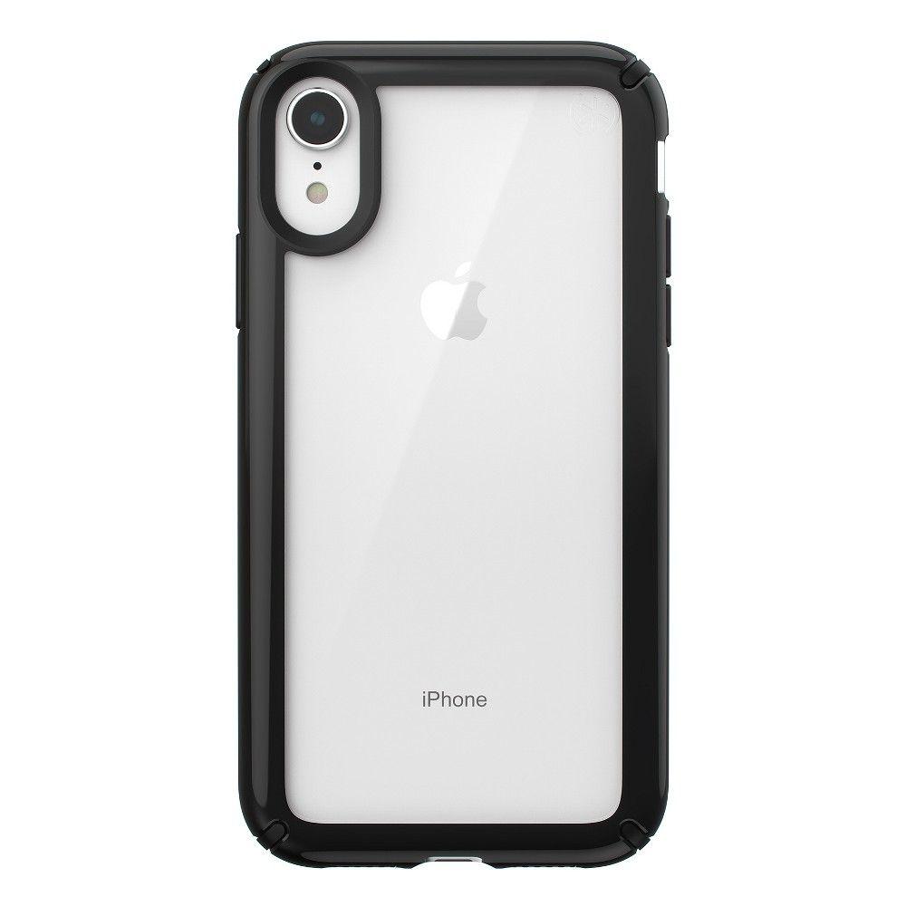Speck apple iphone xr presidio case clearblack iphone
