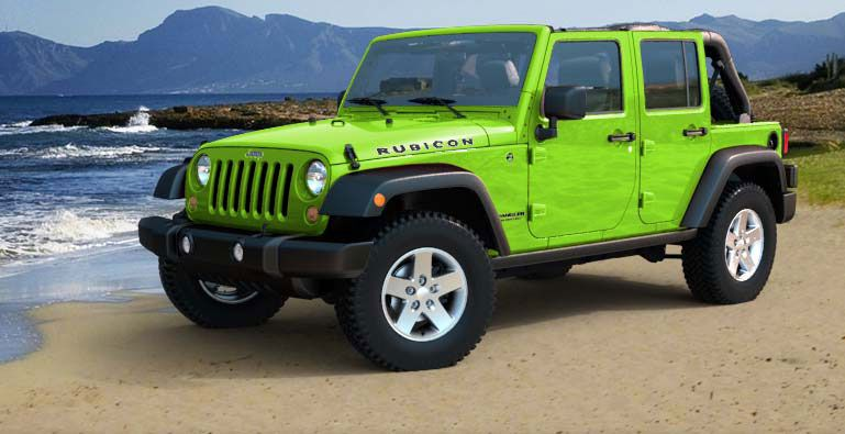 Trail Rated 4 Door Suv Jeep Wrangler Unlimited Jeep Wrangler