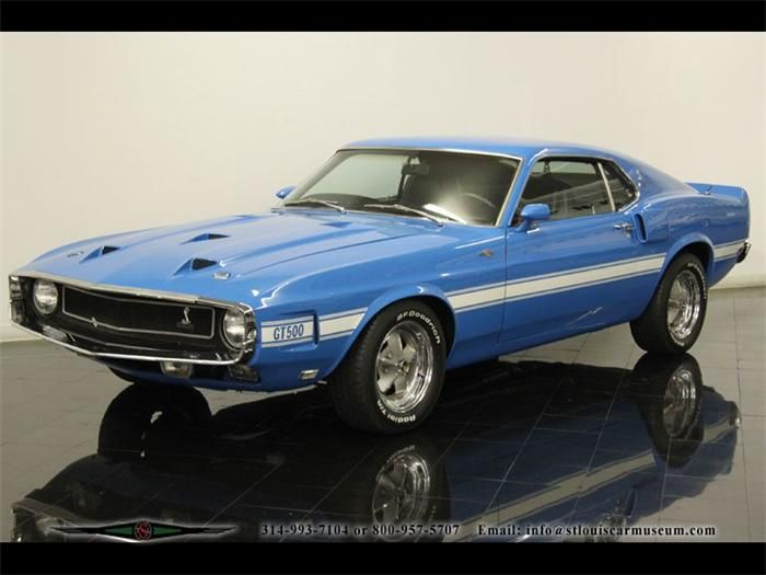 1969 Ford Mustang Shelby Gt500 1969 Mustang Shelby Gt500 Cobra