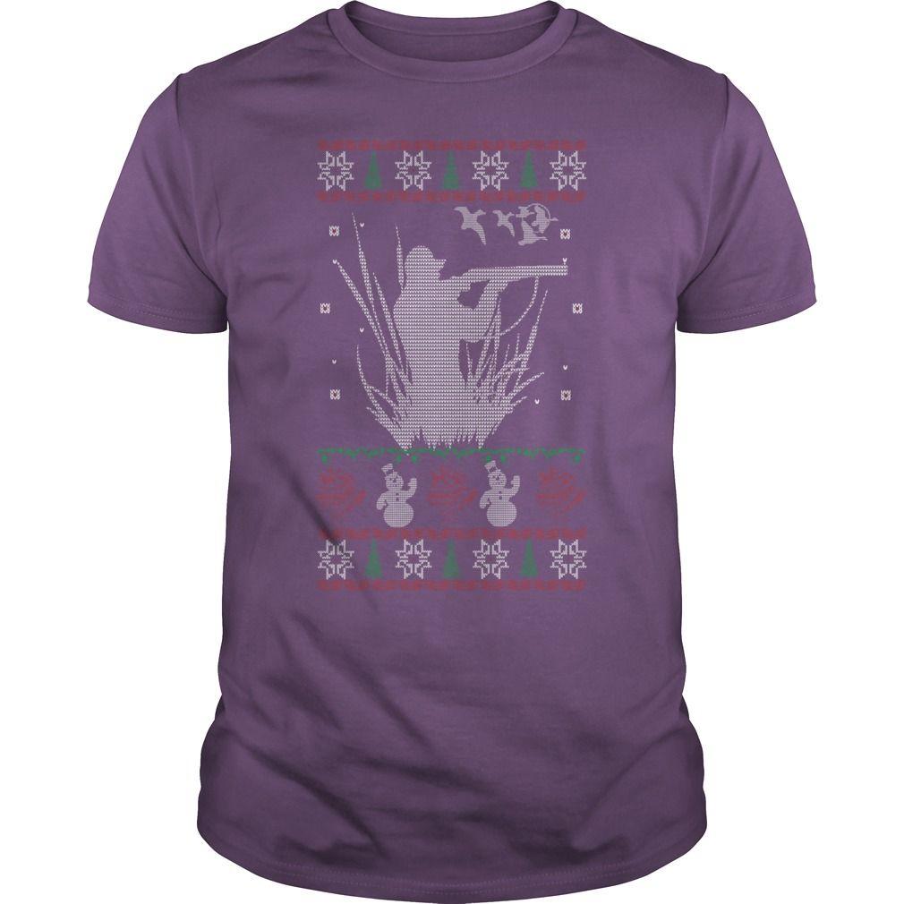 This girl love Duck Hunting Christmas T-shirts | Funny T Shirts ...