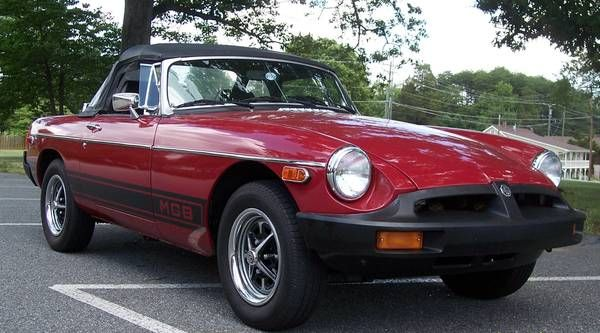 1979 Mgb Convertible 4995 Pfafftown Nc Craigslist Forsale British Sports Cars Mg Cars Bmw Car