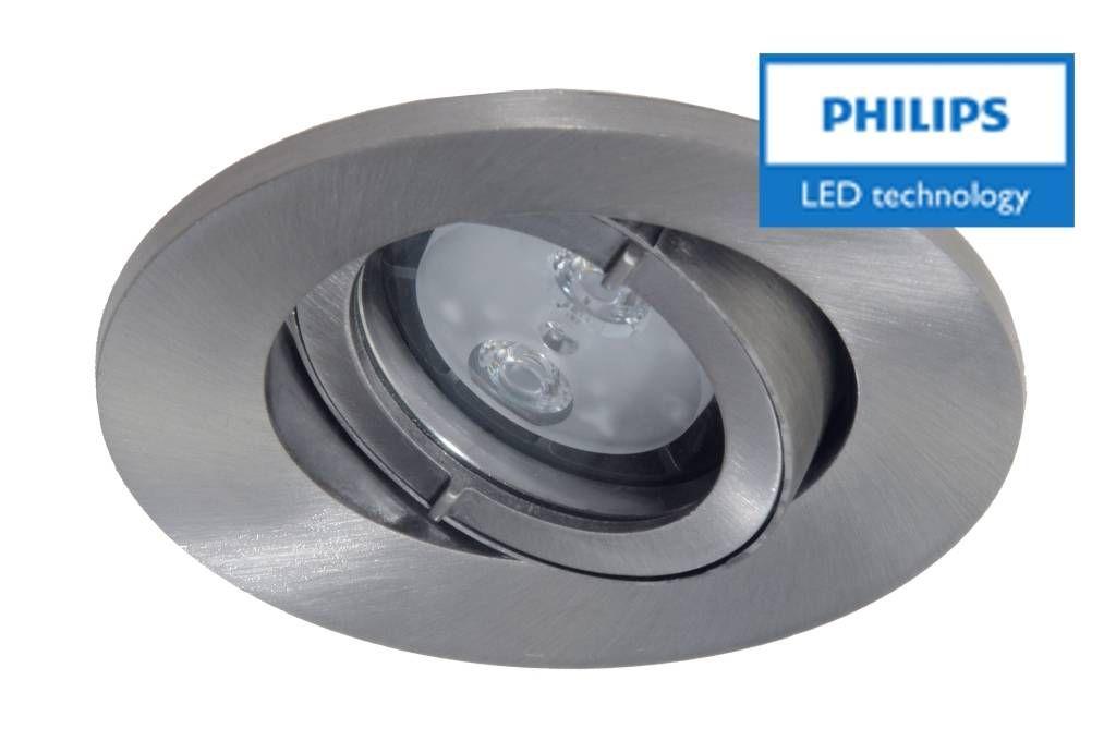 Philips Badkamer (IP44) inbouw LEDspot 12 V 4W armatuur spot ...