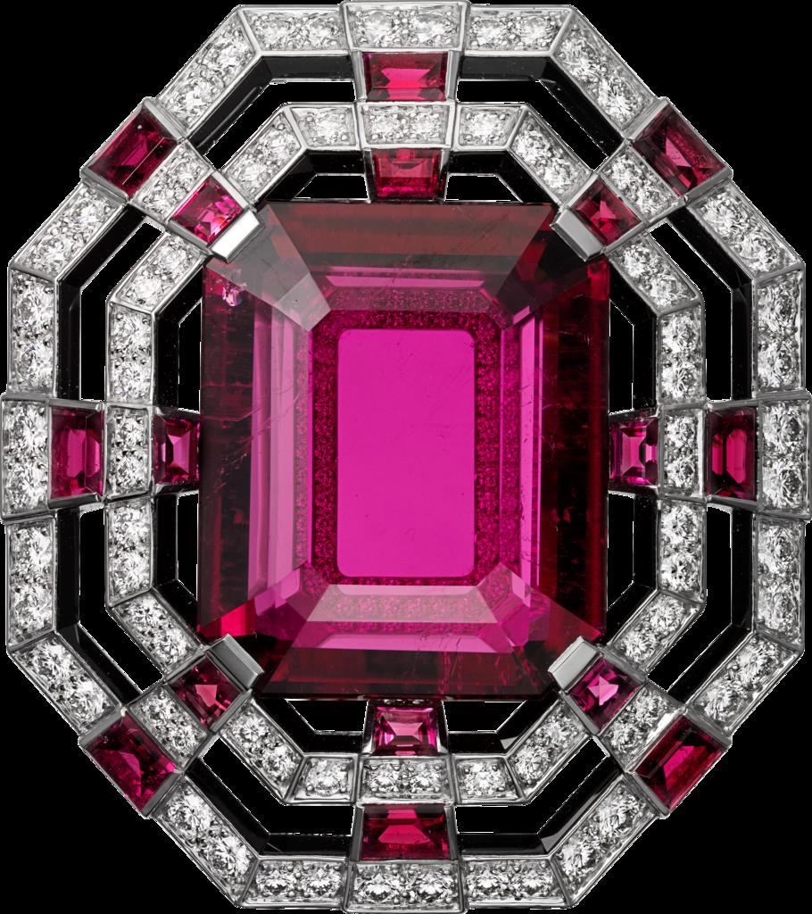 High Jewelry brooch