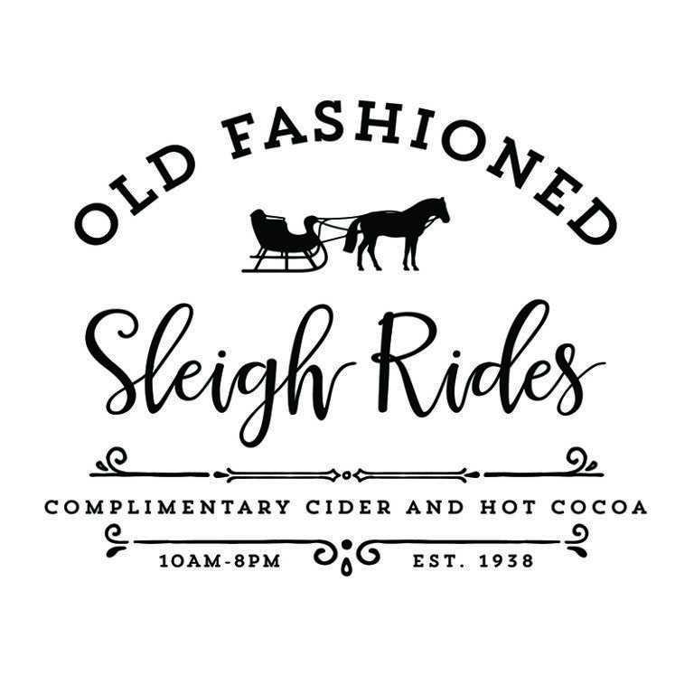 Old Fashioned Sleigh Rides is part of Christmas decorations, Christmas decor diy, Christmas crafts, Christmas svg, Christmas diy, Christmas printables - Instantly Download this Old Fashioned Sleigh Rides printable, perfect for sprucing up your home this holiday season!