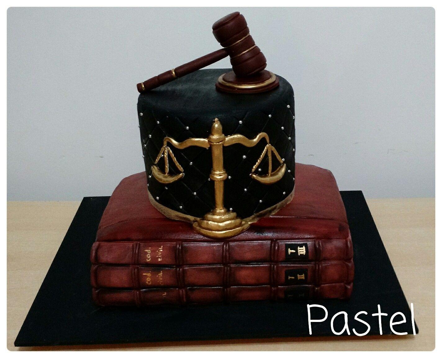 Lawyer cake. #PastelByJosefina #Cakes Cake decoration ...