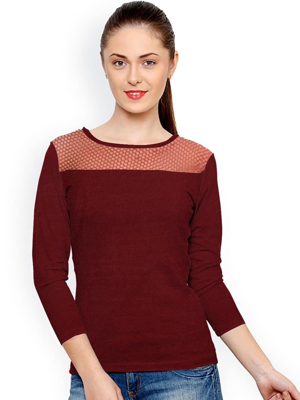 97cdd55d400 Pin by eAlpha Online Shopping Store on Women Tops in 2019