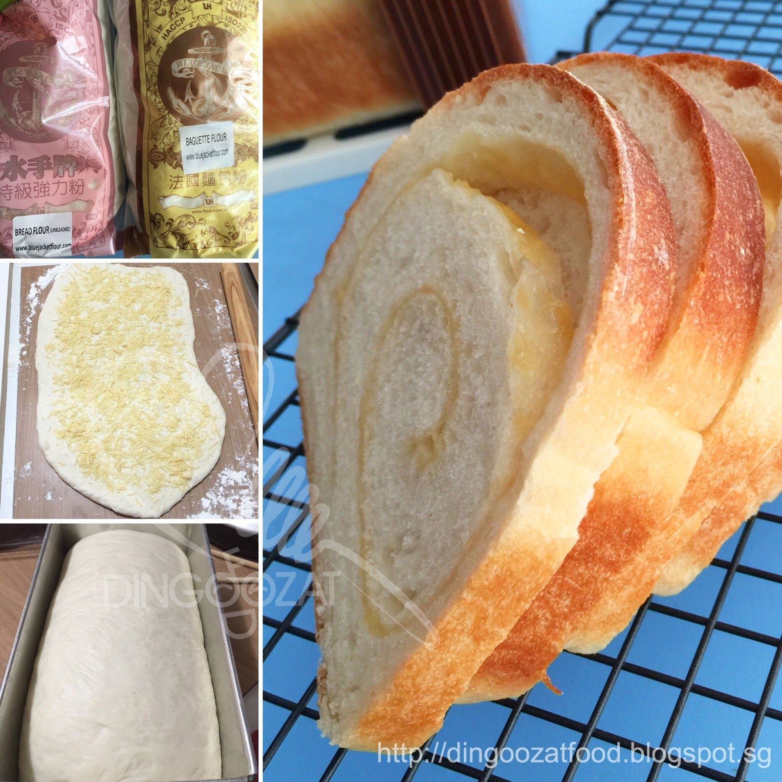 Parmesan French Bread 法国芝士面包 | Food, Homemade bread buns ...