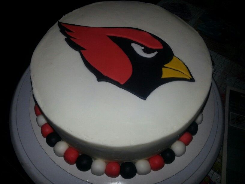 Arizona Cardinals Cake For Nfl Fans Pinterest The O