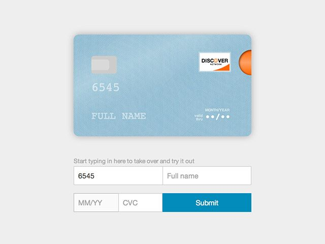 Card will take any credit card form and make it the best part of - credit card form