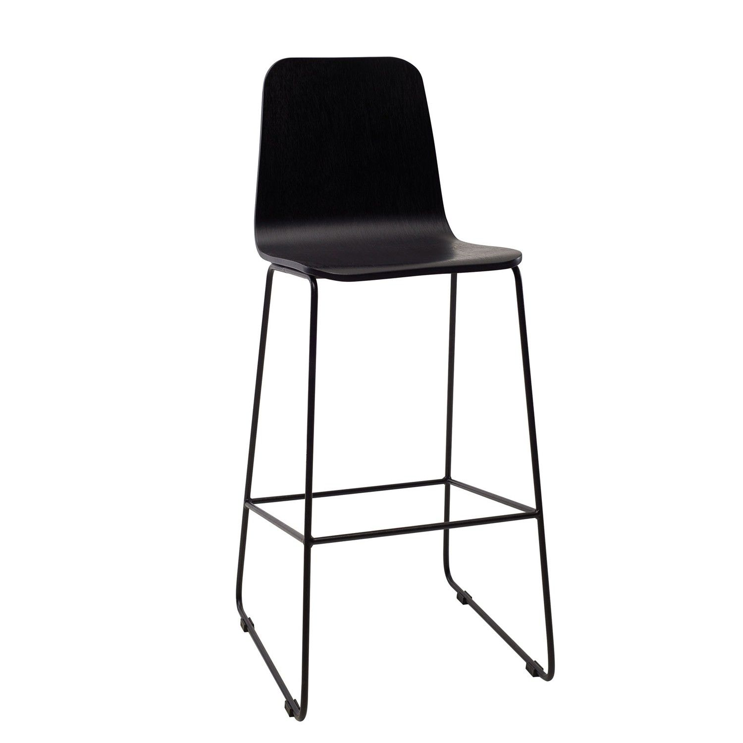 Agnes High Back Bar Stool