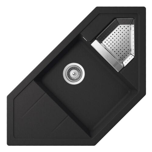 Details Zu Schock Primus C 150 Onyx Schwarz Eckspule Spule Granitspule Resteschale In 2020 Mit Bildern Einbauspule Edelstahl Ebay Edelstahl
