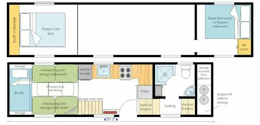 Astonishing Mitchcraft 30 Gooseneck Tiny Home Perfect For Our Family Download Free Architecture Designs Scobabritishbridgeorg