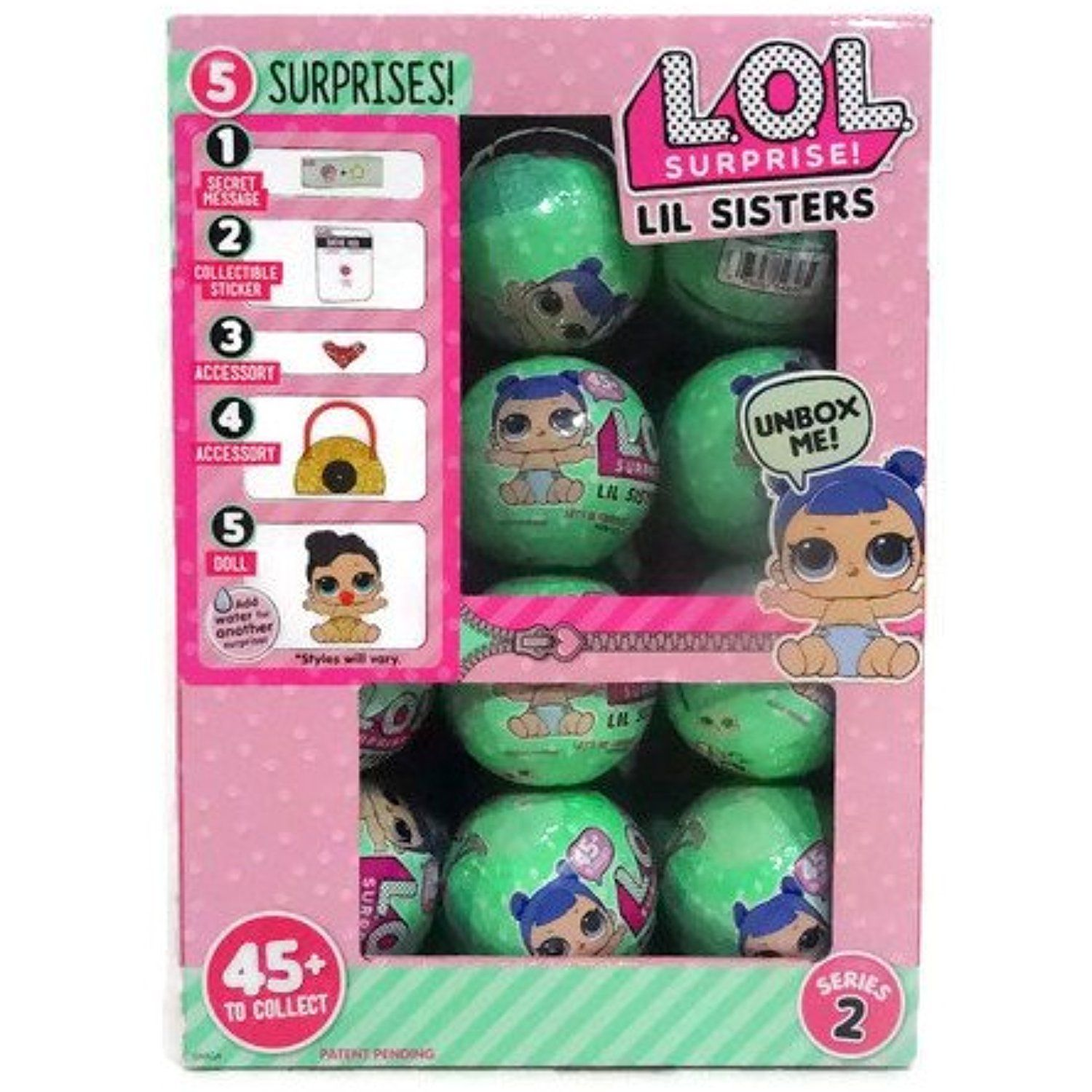 Lol Surprise Lil Outrageous Littles Lil Sisters Series 2 Wave 2 Lets Be Friends Mystery Pack Multi Pack Of 2 Lol Dolls Doll Display Girl Birthday Party Gifts