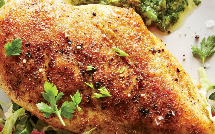 Smoky Pan Seared Chicken Breasts From The Cooking Light Diet