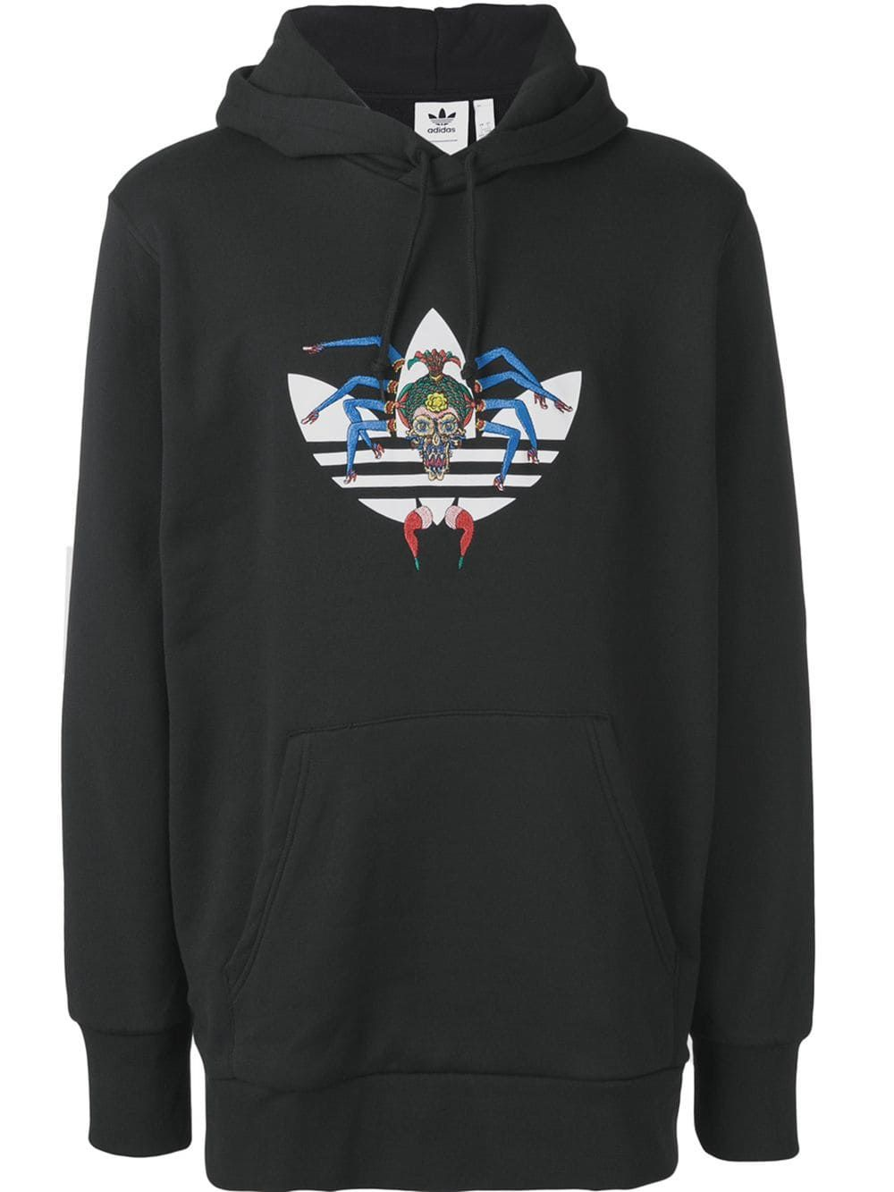 97881a99ae7e ADIDAS ORIGINALS ADIDAS TANAAMI HOODIE - SCHWARZ.  adidasoriginals  cloth Adidas  Originals Mens