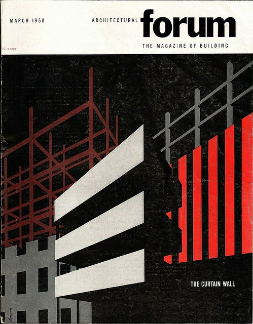 Architectural Forum March 1950 | Vintage Graphics | Architecture