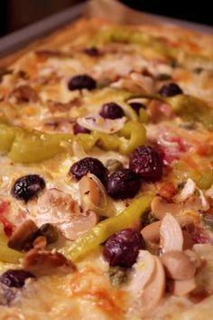Perfekter Pizzateig für ein Blech, Thermomix - Rezept