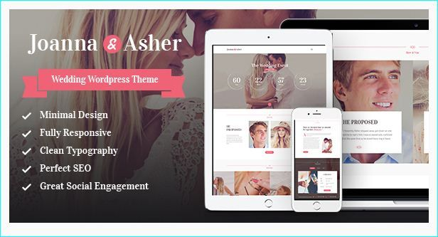 20 WordPress Wedding Themes Collection | WordPress Wedding Themes ...