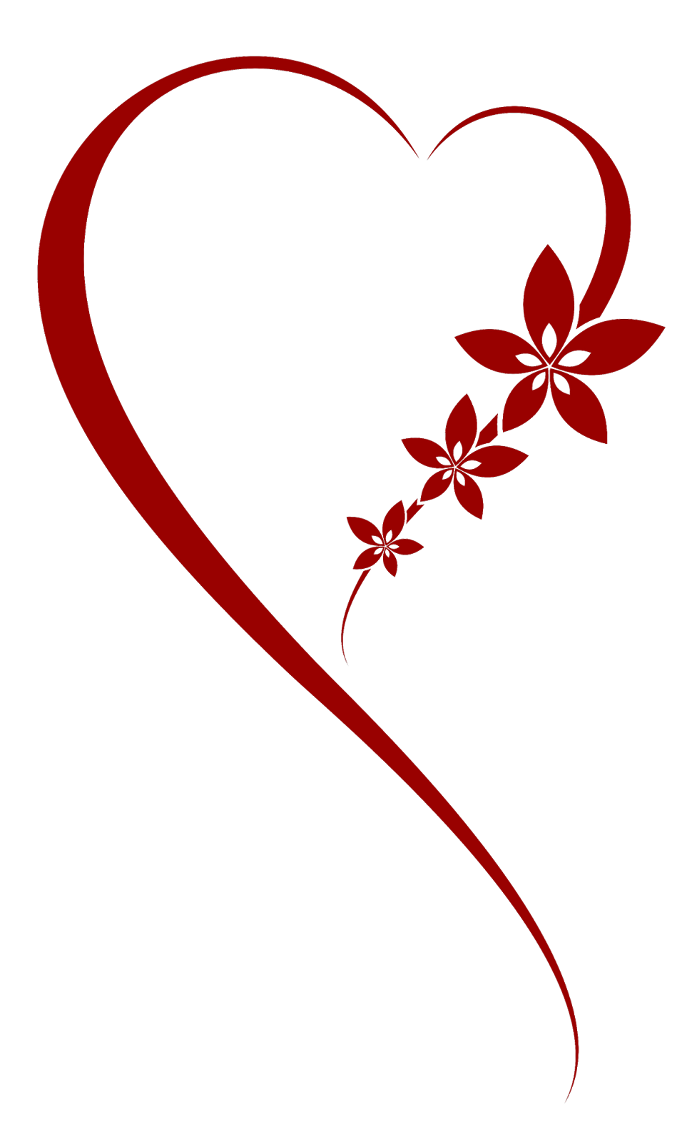 Corazon Png 977 1600 Red Heart Tattoos Valentine Embroidery Valentines Art